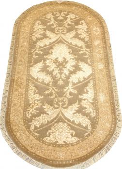 Индийский ковер из шерсти с артшелком Авшан ОГ20ДWAsC
