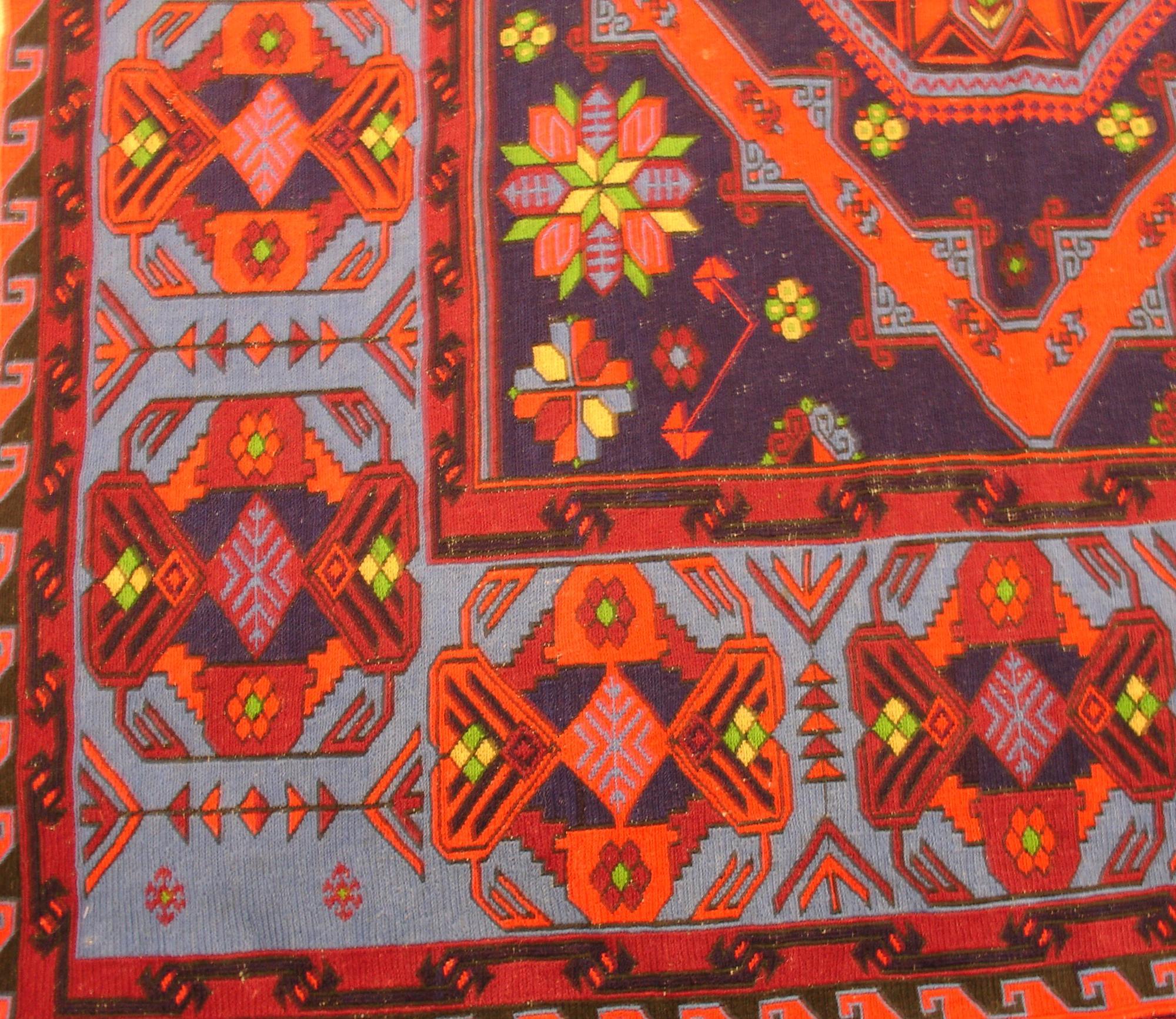 Дагестанский ковер из шерсти Сумах Д7WW