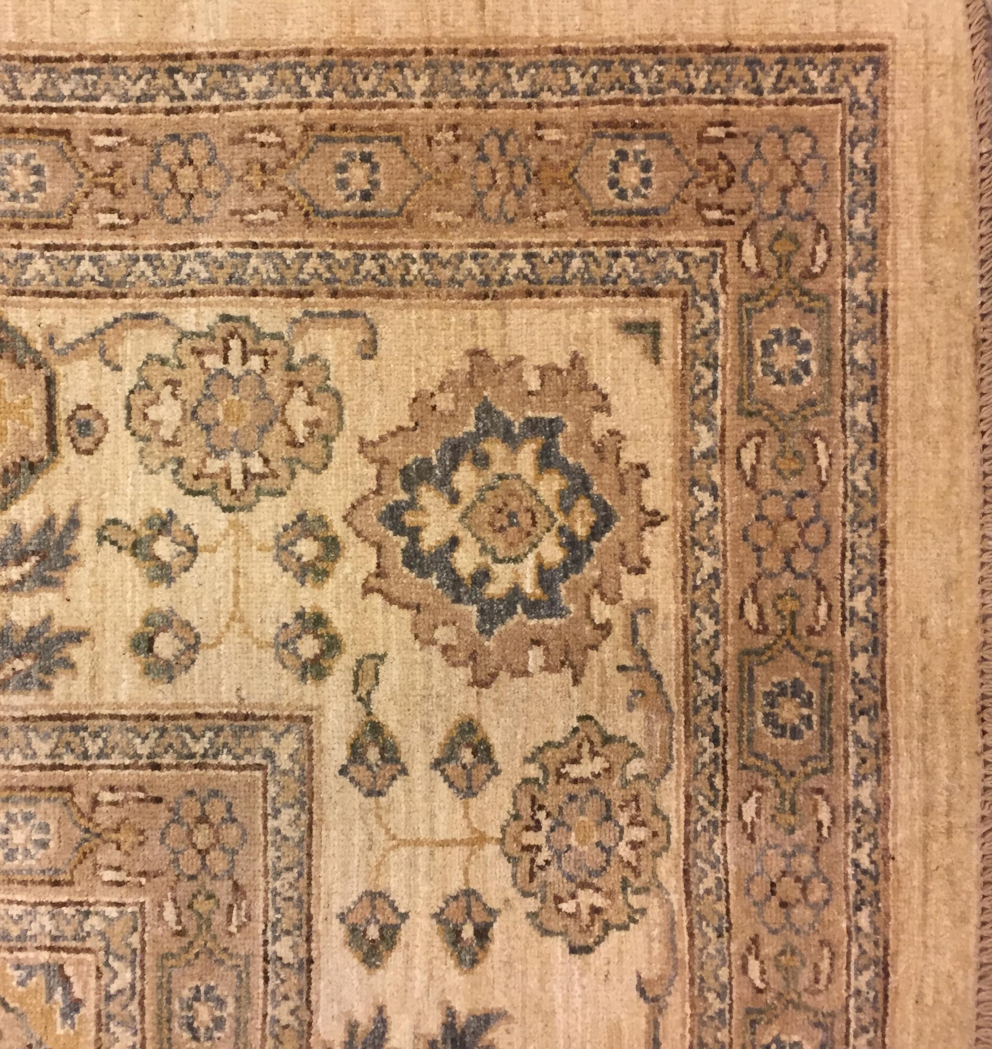 Афганский ковер из шерсти Чеби Z532WW