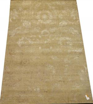 Индийский ковер из шерсти с артшелком Джайпур ОГ64WAsC