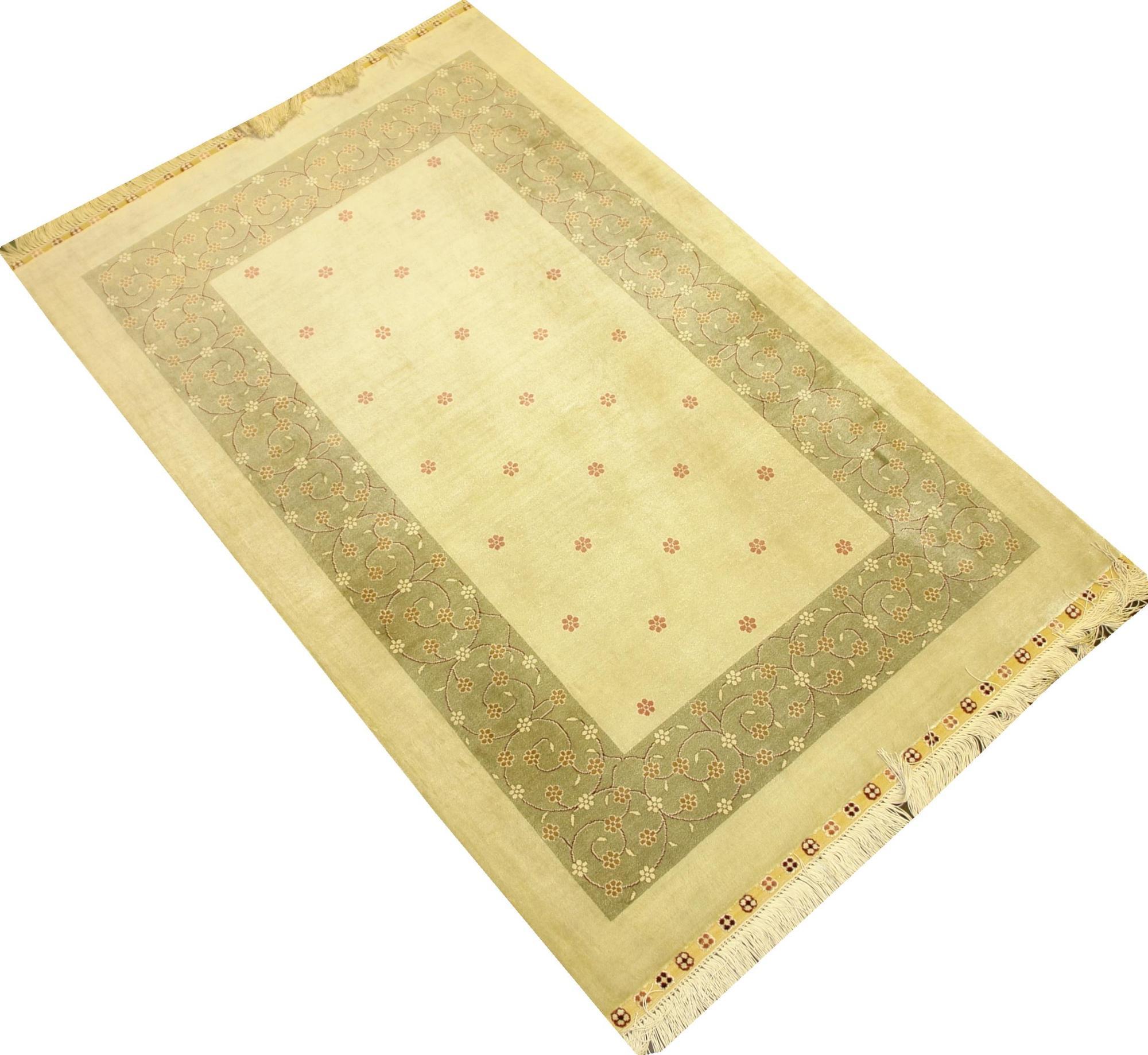 Турецкий ковер из шелка Авшан ОГ18SS