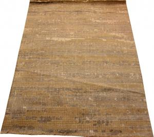 Индийский ковер из шерсти с вискозой Абстракция ОГ37WV