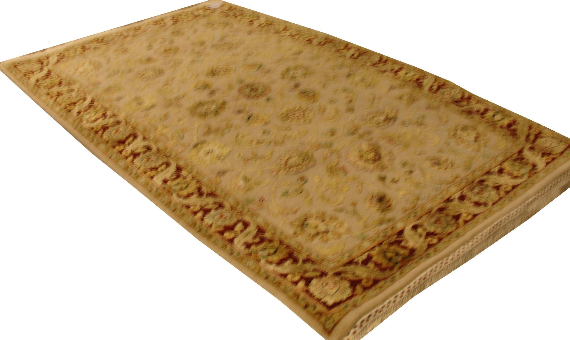 Индийский ковер из шерсти с шелком Авшан ОГ28АЮWSC