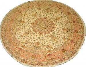 Иранский ковер из шерсти с шелком Медальон AL87WSC