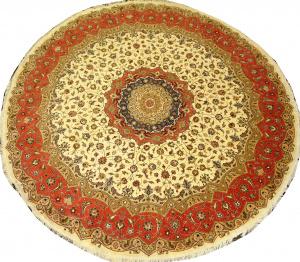 Иранский ковер из шерсти с шелком Медальон AL88WSC