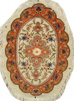 Иранский ковер из шерсти с шелком Медальон ОГ39WSC