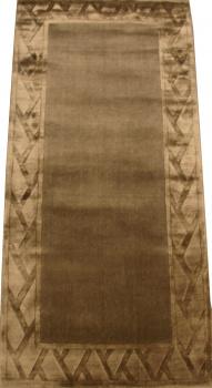 Индийский ковер из шерсти с артшелком Sussex grey ОГ5683WAsC