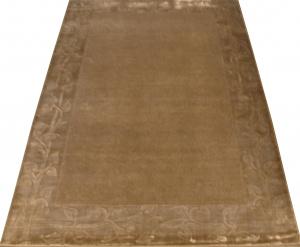 Индийский ковер из шерсти с артшелком Grey ОГ5600WAsC