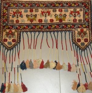 Афганский ковер из шерсти Двери ОГ35WW