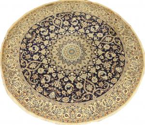 Иранский ковер из шерсти с шелком Медальон AL45WSC