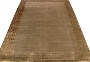 Индийский ковер из шерсти с артшелком Sussex grey ОГ5705WAsC