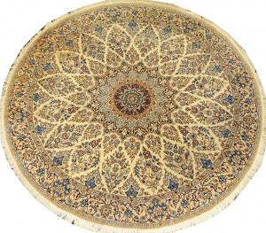 Иранский ковер из шерсти с шелком Медальон AL94WSC
