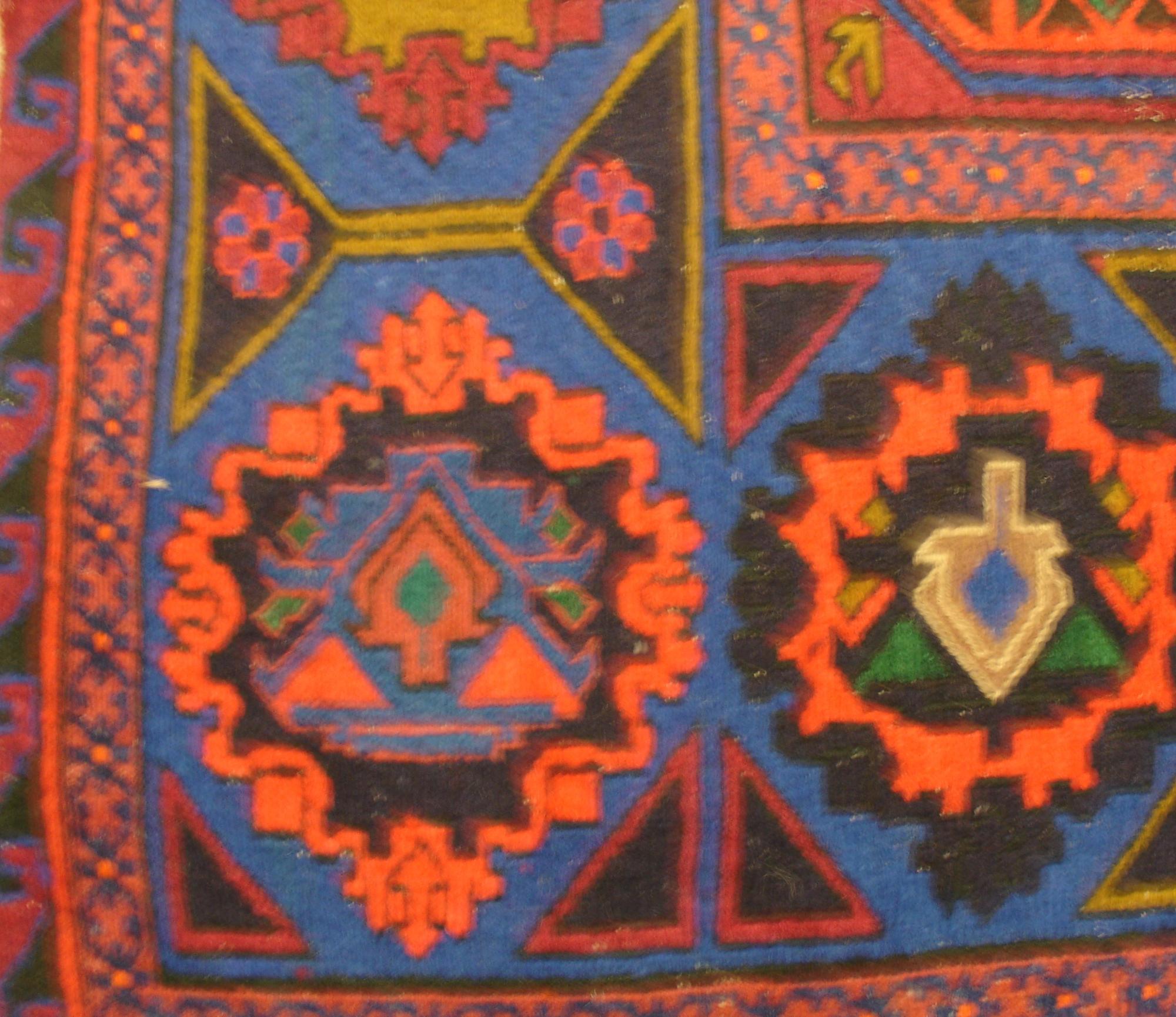 Дагестанский ковер из шерсти Сумах Д40WW