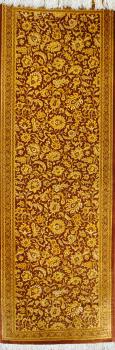 Иранский ковер из шелка Авшан ОГ86SS