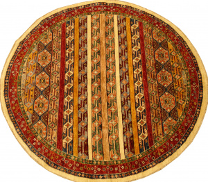Афганский ковер из шерсти Казах ZОГ267WW