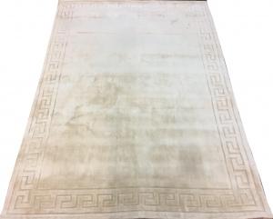 Индийский ковер из вискозы Greek White ОГL93V