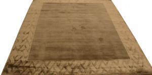Индийский ковер из шерсти с артшелком Sussex grey ОГ5702WAsC