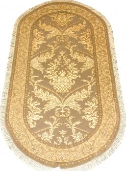 Индийский ковер из шерсти с артшелком Авшан ОГ21ДWAsC