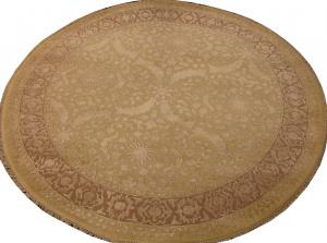 Индийский ковер из шерсти с артшелком Авшан ОГ94АЮWAsC