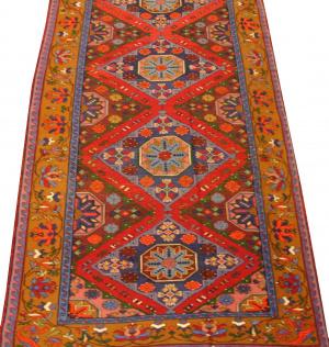 Дагестанский ковер из шерсти Сумах Д4WW