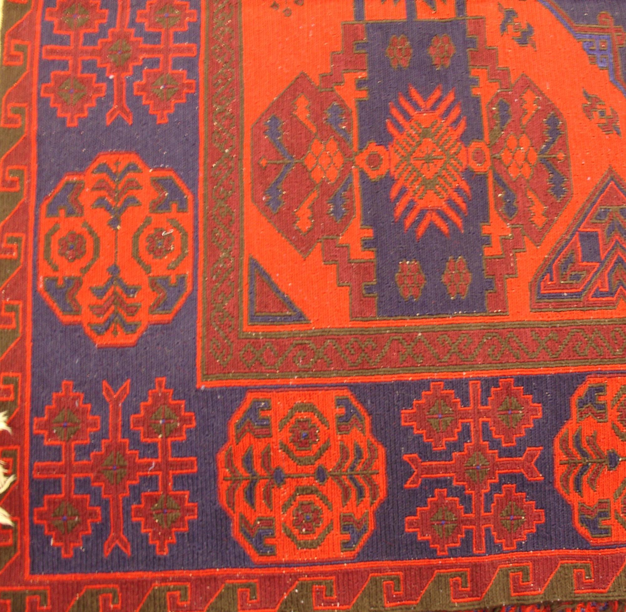 Дагестанский ковер из шерсти Сумах Д6WW