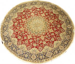 Иранский ковер из шерсти с шелком Медальон AL37WSC