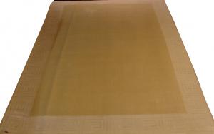 Индийский ковер из шерсти с артшелком Greek White/Lt.beige ОГ5671WAsC