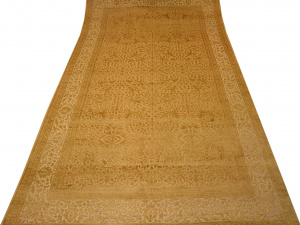 Индийский ковер из шерсти с артшелком Рашпут ОГ23WAsC