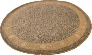Индийский ковер из шерсти с артшелком Авшан ОГ93АЮWAsC