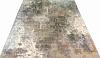Индийский ковер из шерсти с шелком Абстракция ОГ2SW