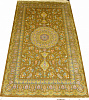 Турецкий ковер из шелка Медальон ОГ8SS