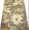 Индийский ковер из шерсти с артшелком Джайпур ОГ72WAsC