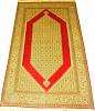 Индийский ковер из шелка Медальон ОГ14SS